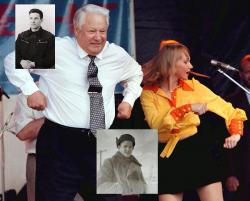 Борис Ельцин в детстве
