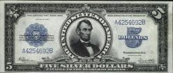Портрет Авраама Линкольна на Долларах США