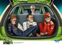 Михаэль Шумахер в рекламе Ford Figo