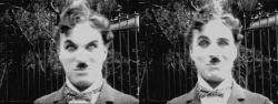 "Чарли Чаплин на съемках фильма ""Огни большого города"", 1930 год"