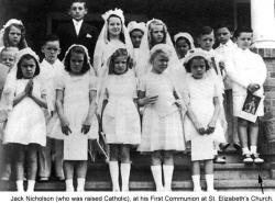 Джек Николсон в детстве и молодости