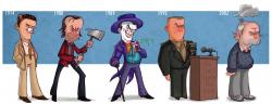 Эволюция персонажей Джека Николсона