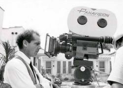 "Джек Николсон на съемках фильма ""Состояние"", 1974 год"