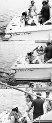 Джек Николсон во время отдыха в Сан-Тропе, 1976 год