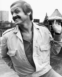 "Джек Николсон на съемках фильма ""Безопасное место"", 1971 год"