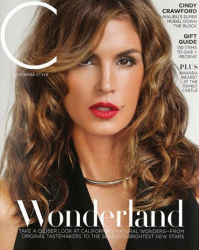Синди Кроуфорд для C magazine, декабрь 2013