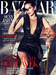 Синди Кроуфорд для майского выпуска Harper's Bazaar