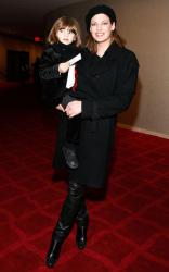 Линда Евангелиста с сыном