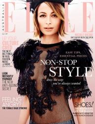Николь Ричи в фотосессии Джастина Коита для австралийского выпуска журнала Elle, июль 2014