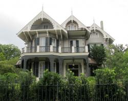 Викторианский особняк Сандры Баллок