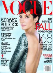 Сандра Буллок в фотосессии Пэтэра Линдберга для журнала VOGUE US, октябрь 2013
