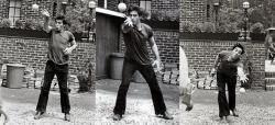 """Аль Пачино играет в бочче во время перерыва на съемках фильма """"Крестный отец"""", 1972 год"""