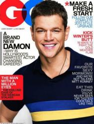 Мэтт Дэймон в журнале GQ