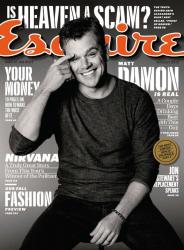 Мэтт Дэймон для Esquire, август 2013