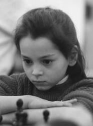 Александра Костенюк в детстве