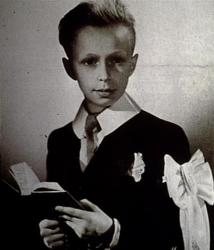 Пьер Ришар в детстве
