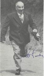 Автограф Луи де Фюнеса