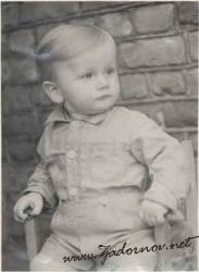Михаил Задорнов в детстве и молодости