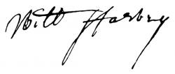 Автограф Уильяма Гарвея