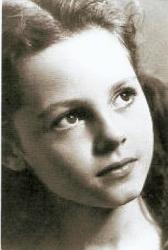 Мишель Мерсье в детстве