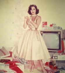 Новогодние образы актрис XX века