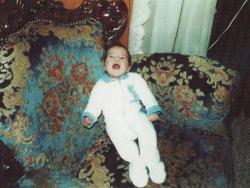Рафаэль ван дер Варт в детстве