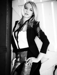 Оксана Акиньшина для журнала InStyle Russia