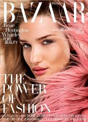 Роузи Хантингтон-Уайтли в фотосессии Дэвида Слейпера для Harper's Bazaar UK, сентябрь 2014
