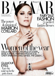 Марион Котийяр для Harper's Bazaar UK