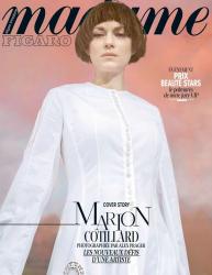 Марион Котийяр для Madame Figaro, февраль 2015