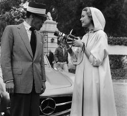 Фрэнк Синатра и Грейс Келли, 1956 год