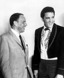 Фрэнк Синатра и Элвис Пресли, 1965 год
