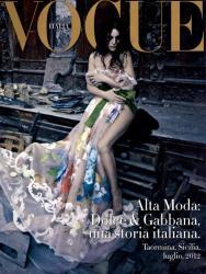 Моника Беллуччи для Vogue Italia