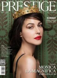 Моника Беллуччи для PRESTIGE Magazine, осень 2013