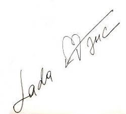Автограф Лады Дэнс