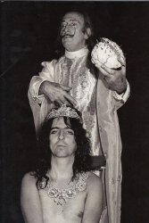 Элис Купер и Сальвадор Дали, 1970 год