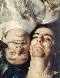 Элис Купер и Сальвадор Дали, 1973 год
