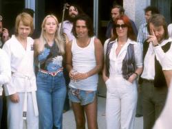 ABBA и Элис Купер, 1977 год