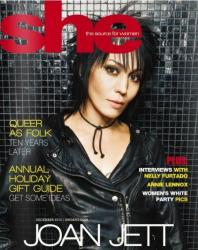 Джоан Джетт на обложках журналов