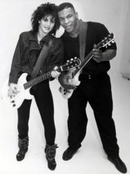 Джоан Джетт и Майк Тайсон (1986)