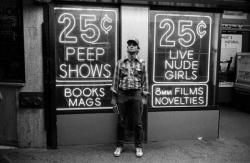 Билл Мюррей на Таймс-сквер, 1979 год