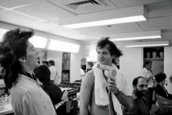 Ронни Вуд и Билл Мюррей, 1978 год