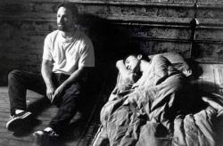 "Дэвид Финчер и Эдвард Нортон на съемках фильма ""Бойцовский клуб"", 1999 год"