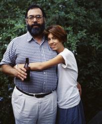 Френсис Форд Коппола и его дочь София, 1984 год
