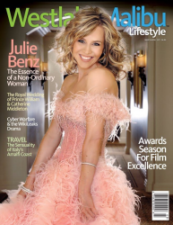Джули Бенц на обложках журналов