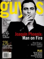 Хоакин Феникс на обложках журналов