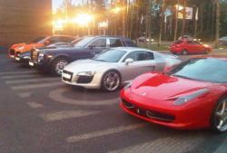 Автомобили русского рэпера Тимати
