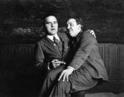 Агент Мирон Селзник и Альфред Хичкок, 1924 год