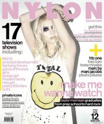 Тейлор Момсен на обложках журналов