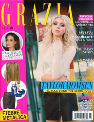 Тейлор Момсен для Grazia Magazine (Mexico), февраль 2014